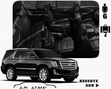 SUV Escalade for hire
