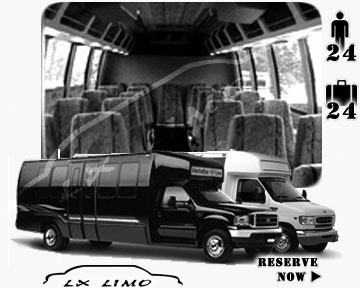 Mini bus for hire in Saint Louis MO