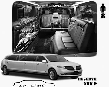 Stretch Limo for hire in Saint Louis