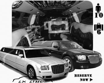 Chrysler 300 Limo in Saint Louis for wedding
