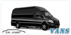 Luxury Van service in Saint Louis