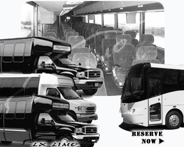 Saint Louis Bus rental 36 passenger