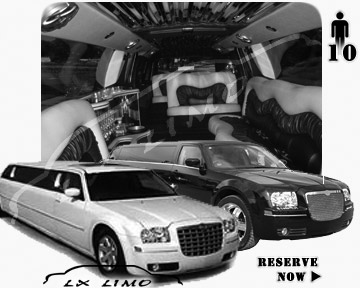 Chrysler 300 Limo for wedding in Saint Louis
